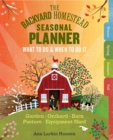 The Backyard Homestead Seasonal Planner - Book