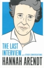 Hannah Arendt: The Last Interview - Book