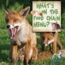 What's On The Food Chain Menu? - eBook