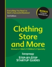 Clothing Store and More : Step-by-Step Startup Guide - eBook