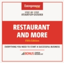 Restaurant and More : Step-By-Step Startup Guide - eBook