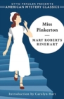 Miss Pinkerton - Book