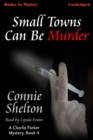 Small Towns Can Be Murder - eAudiobook
