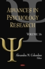 Advances in Psychology Research. Volume 76 - eBook