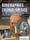 Biographies of Colonial America - eBook