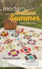 Modern Indian Summer Quilt Pattern - Book