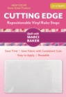 Cutting Edge : Repositionable Vinyl Ruler Stops - Book