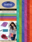 kraft-tex (R) Designer 6 Colours Sampler Pack, Hand-dyed & Prewashed : Kraft Paper Fabric - Book