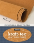 kraft-tex (R) Roll, Natural Prewashed : Kraft Paper Fabric - Book