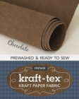 kraft-tex (R) Vintage Roll, Chocolate Prewashed : Kraft Paper Fabric - Book