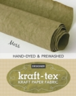 kraft-tex (R) Roll Moss Hand-Dyed & Prewashed : Kraft Paper Fabric - Book