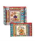 Colorful Creatures Eco Pouch Set - Book
