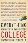 Everything You Need to Know Before College - eBook