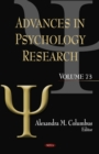 Advances in Psychology Research. Volume 73 - eBook