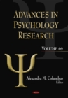 Advances in Psychology Research. Volume 69 - eBook