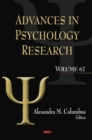 Advances in Psychology Research. Volume 67 - eBook