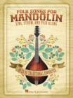 Folk Songs For Mandolin - Book
