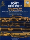 Forty Little Pieces (Book/Online Audio) - Book