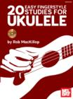 20 Easy Fingerstyle Studies For Ukulele eBook - eBook
