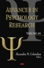 Advances in Psychology Research. Volume 89 - eBook