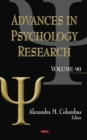 Advances in Psychology Research. Volume 90 - eBook