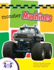 Monster Machines Sound Book - eBook