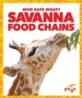 Savanna Food Chains - Book