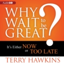 Why Wait to Be Great? - eAudiobook