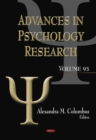 Advances in Psychology Research. Volume 93 - eBook