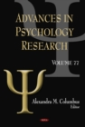 Advances in Psychology Research. Volume 77 - eBook
