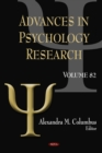 Advances in Psychology Research. Volume 82 - eBook