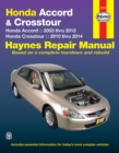 Honda Accord & Crosstour (03-14) : 2003-14 - Book