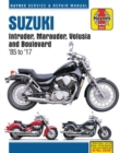 Suzuki Intruder, Marauder, Volusia & Boulevard, 1985-2017 Haynes Repair Manual : Does Not Include Vx800 Marauder - Book