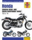 Honda CMX250 Rebel & CB250 Nighthawk Twins (85-16) - Book