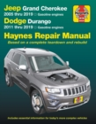Jeep Grand Cherokee 2005 Thru 2019 and Dodge Durango 2011 Thru 2019 Haynes Repair Manual : Based on Complete Teardown and Rebuild - Book