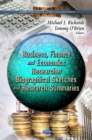 Business, Finance & Economcs Researcher : Biographical Sketches & Research Summaries - Book