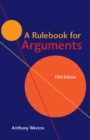 A Rulebook for Arguments - Book