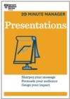 Presentations (HBR 20-Minute Manager Series) - eBook
