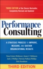 Performance Consulting : A Strategic Process to Improve, Measure, and Sustain Organizational Results - eBook