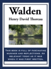 Walden : Or Life in the Woods - eBook