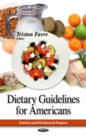 Dietary Guidelines for Americans - eBook