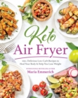 Keto Air Fryer : 200+ Delicious Low-Carb Recipes to Heal Your Body & Help You Lose Weight - Book
