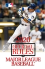 2020 Official Rules of Major League Baseball - Book