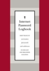 Internet Password Logbook (Red Leatherette) : Keep track of usernames, passwords, web addresses in one easy and organized location - Book