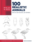 Draw Like an Artist: 100 Realistic Animals : Step-by-Step Realistic Line Drawing  **A Sourcebook for Aspiring Artists and Designers - Book