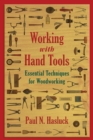 Working with Hand Tools : Essential Techniques for Woodworking - eBook