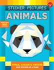 Sticker Pictures: Animals : Stick, color & create one sticker at a time! - Book