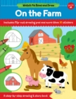 Watch Me Read and Draw: On the Farm : A step-by-step drawing & story book - Includes flip-out drawing pad and more than 30 stickers - Book