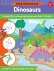 Watch Me Read and Draw: Dinosaurs : A step-by-step drawing & story book - Includes flip-out drawing pad and more than 30 stickers - Book