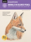 Drawing: Animals in Colored Pencil : Learn to draw with colored pencil step by step - Book